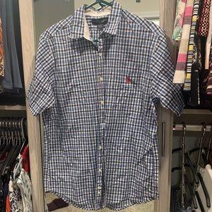 Men button up shirt